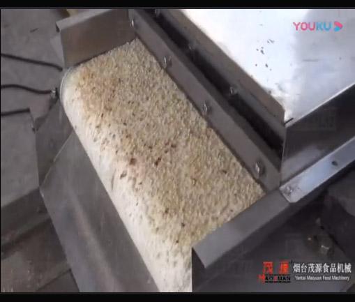 花生切粒分级机